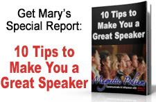 Get 10 Tips to Make You a Great Public Speaker!